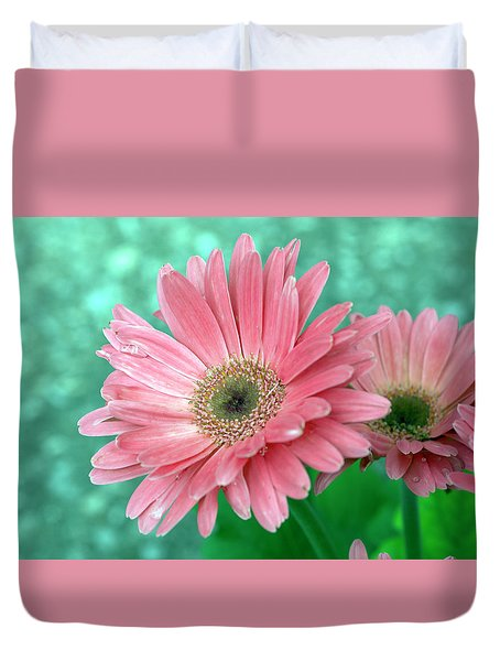 Shining For You Duvet Cover by Wanda Brandon