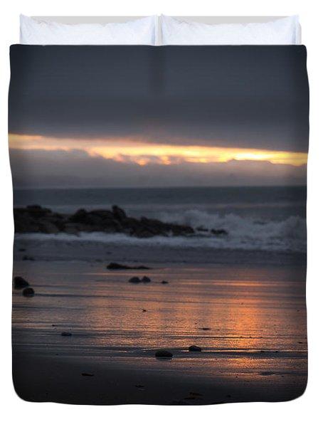 Shining Sand Duvet Cover