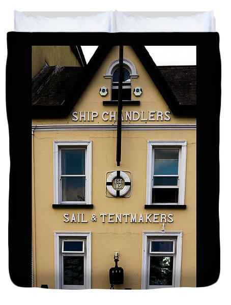 Ship Chandlers Duvet Cover