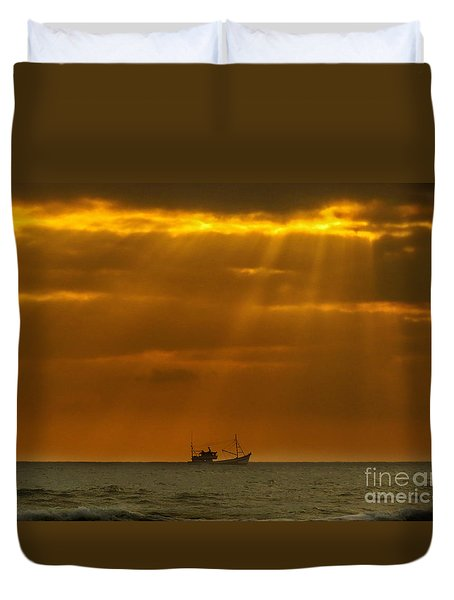 Ship Rest Duvet Cover