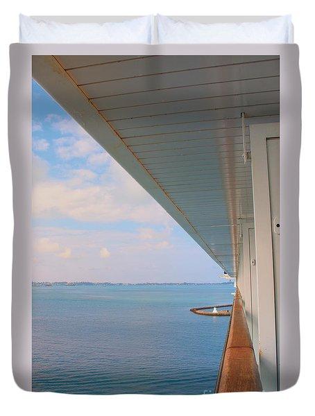 Ships Rail Duvet Cover