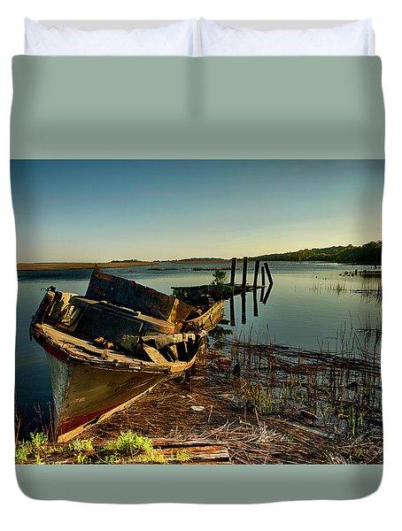 Shipwrecked Duvet Cover