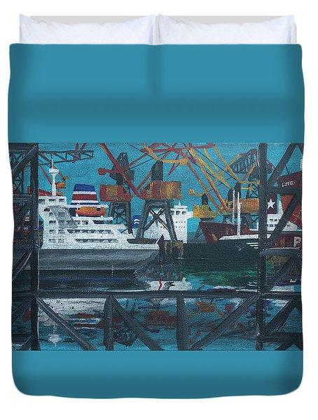 Shipyard Duvet Cover