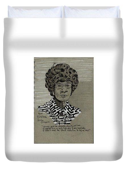 Shirley Chisholm Duvet Cover