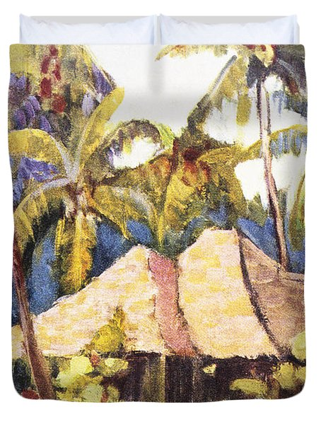 Shirley Russell Art Duvet Cover by Hawaiian Legacy Archive - Printscapes