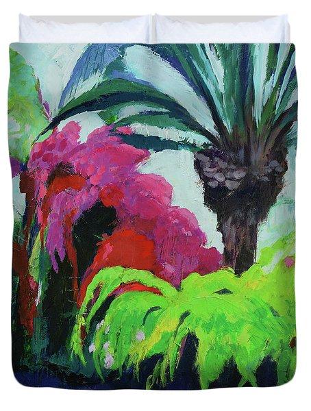 Shirley's Garden Duvet Cover