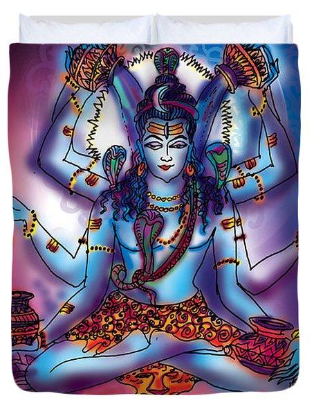 Shiva Abhishek  Duvet Cover