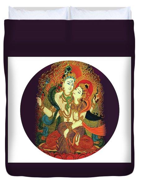 Shiva Shakti Duvet Cover