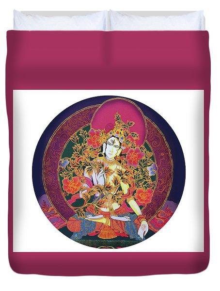 Shiva Shakti Yin And Yang Duvet Cover