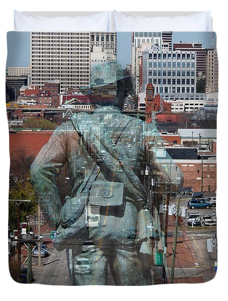 Shockoe Overlook Duvet Cover