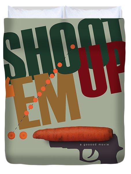 Shoot 'em Up Movie Poster Duvet Cover