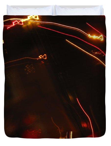 Duvet Cover featuring the photograph Shooting Hearts by Ausra Huntington nee Paulauskaite