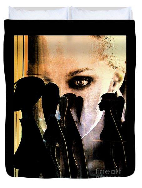 Shop Girls_02 Duvet Cover