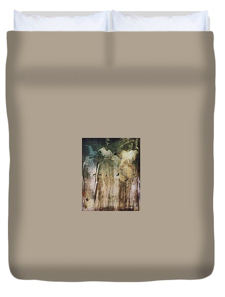 Shop Window Duvet Cover by Alexis Rotella