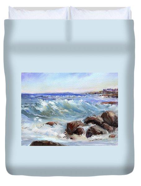 Shore Is Breathtaking Duvet Cover