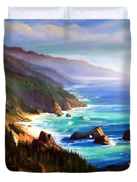 Shore Trail Duvet Cover