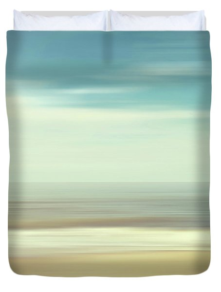 Shore Duvet Cover by Wim Lanclus