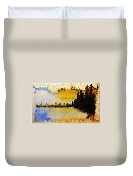 Shoreline 2 Duvet Cover by R Kyllo