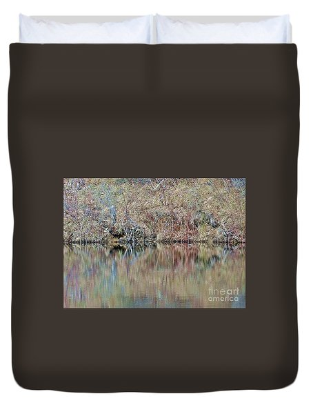 Duvet Cover featuring the photograph Shoreline by Christian Mattison