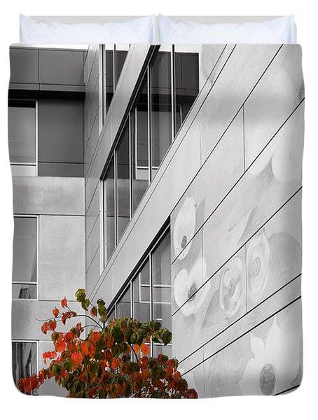 Shoreline City Hall Duvet Cover