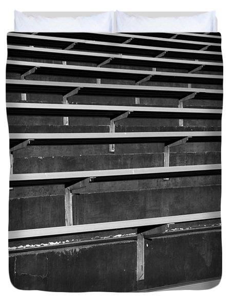 Shoreline Stadium Duvet Cover