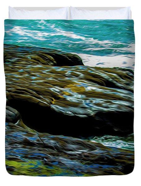 Shoreline  Duvet Cover
