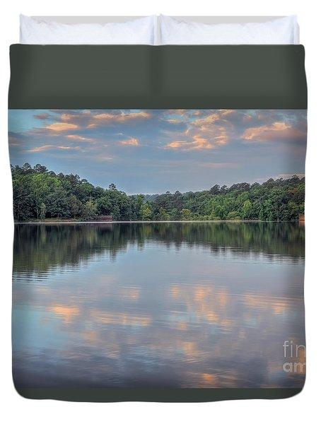 Shores Lake Duvet Cover