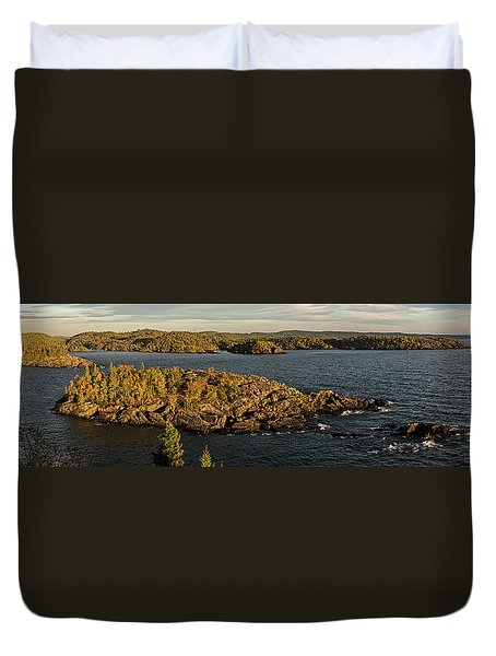 Shores Of Pukaskwa Duvet Cover