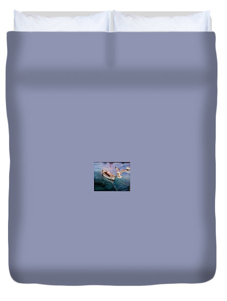 Short Flite Duvet Cover