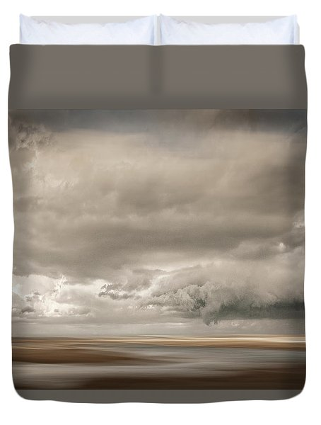 Short Wharf Creek 4 Duvet Cover