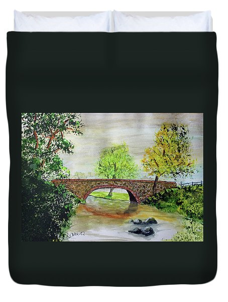 Shortcut Bridge Duvet Cover