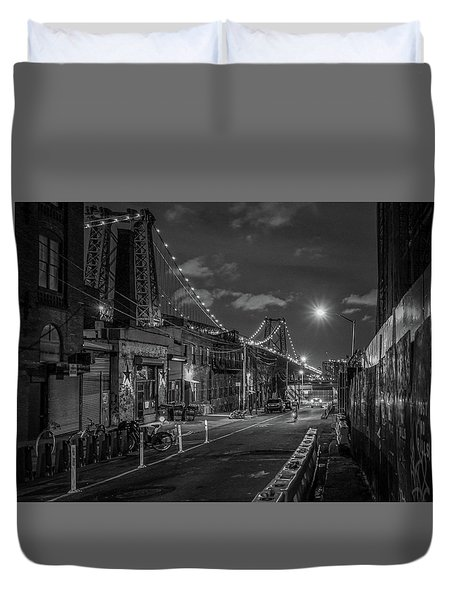 Shortcut Duvet Cover by Jeffrey Friedkin