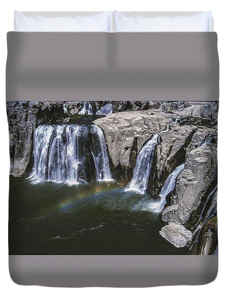 Shoshone Falls Idaho Duvet Cover