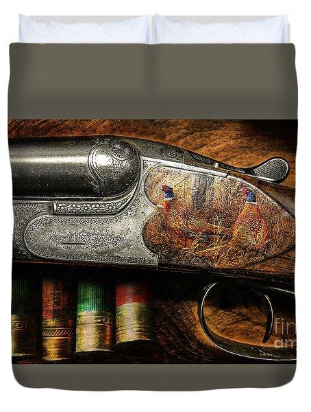 Shotgun  Duvet Cover