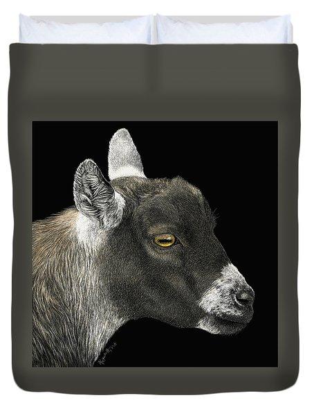 Show Goat Duvet Cover