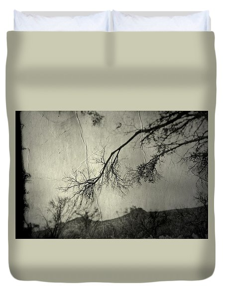 Duvet Cover featuring the photograph Show Me  by Mark Ross