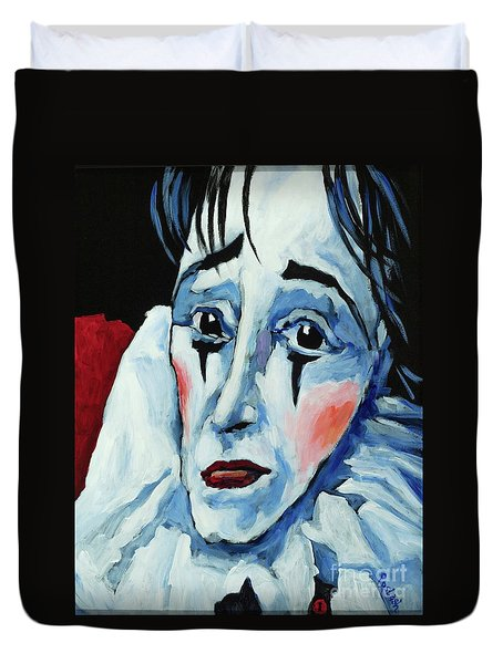 Show Must Go On Duvet Cover by Igor Postash