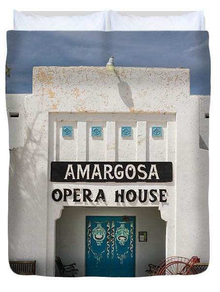 Show Tonight Amargosa Opera House Duvet Cover