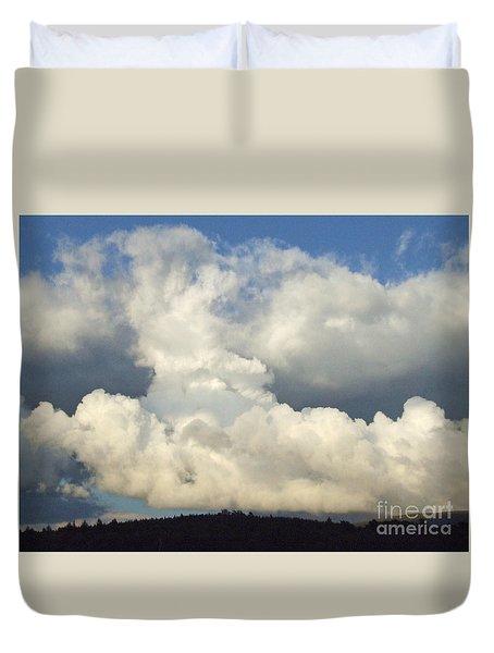 Shower Cumulus  Duvet Cover