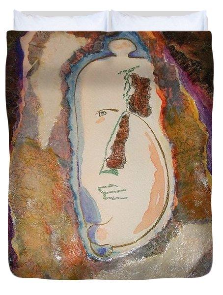 Showerman Duvet Cover