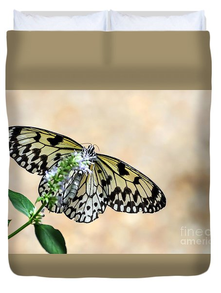 Showy Nymph Duvet Cover by Debbie Green
