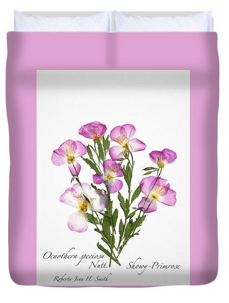 Showy-primrose Duvet Cover