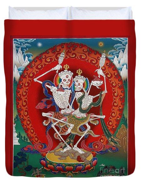 Shri Chittipati - Chokling Tersar Duvet Cover