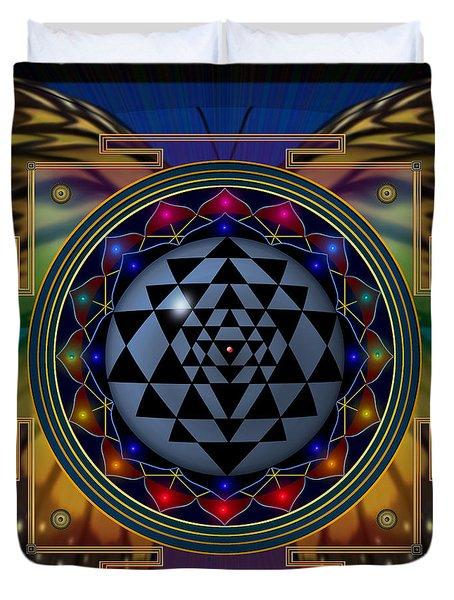 Shri Yantra 1 Duvet Cover