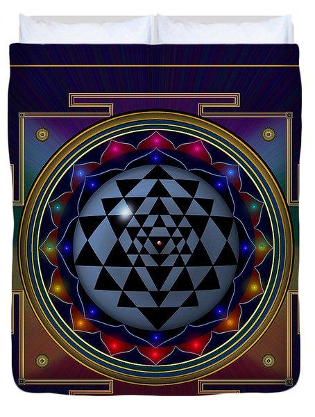 Shri Yantra Duvet Cover