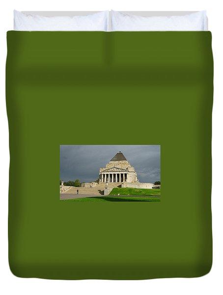 Shrine Of Remembrance Duvet Cover