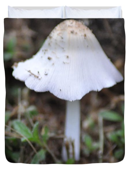 Shroom Duvet Cover by Bill Cannon