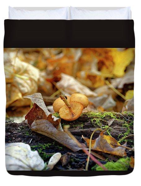 'shrooms Duvet Cover