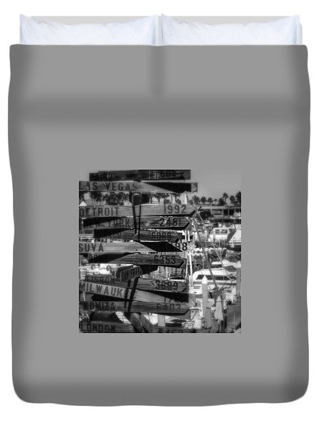 Show Me The Way... Duvet Cover
