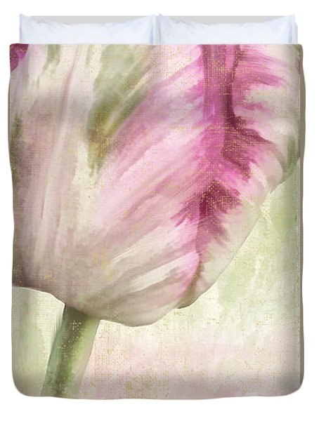 Shy II Duvet Cover by Mindy Sommers